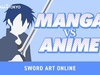 Sword Art Online Manga VS Anime: Staffel 1 Folge 4, 'The Black Swordsman'