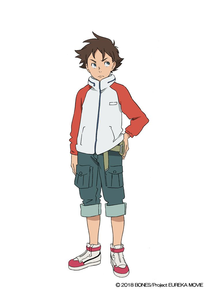 Renton (VA: Yuko Sanpei) from anime movie Anemone: Koukyoushihen Eureka Seven (lit. Psalms of Planets Eureka Seven)