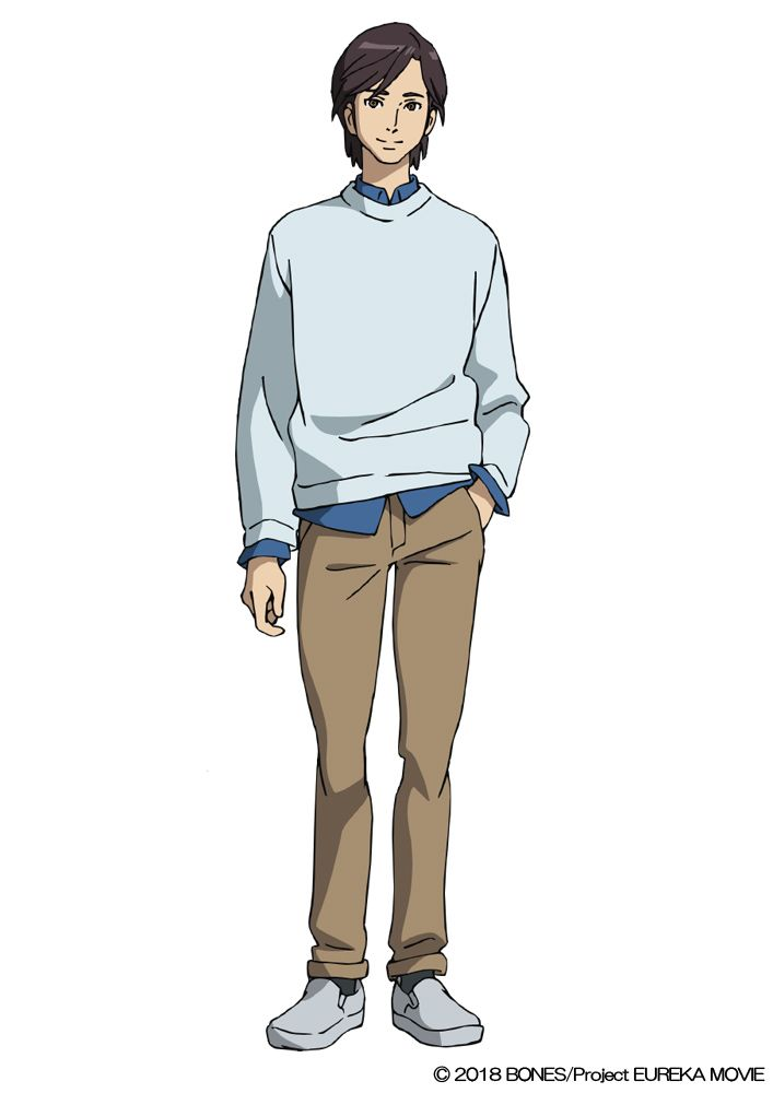 Ken Ishii (VA: Yuya Uchida) from anime movie Anemone: Koukyoushihen Eureka Seven (lit. Psalms of Planets Eureka Seven)