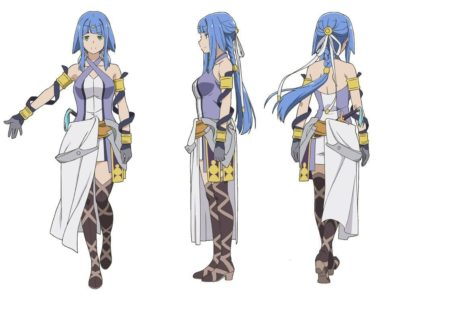 Artemis (VA: Maaya Sakamoto) from anime DanMachi Arrow of the Orion