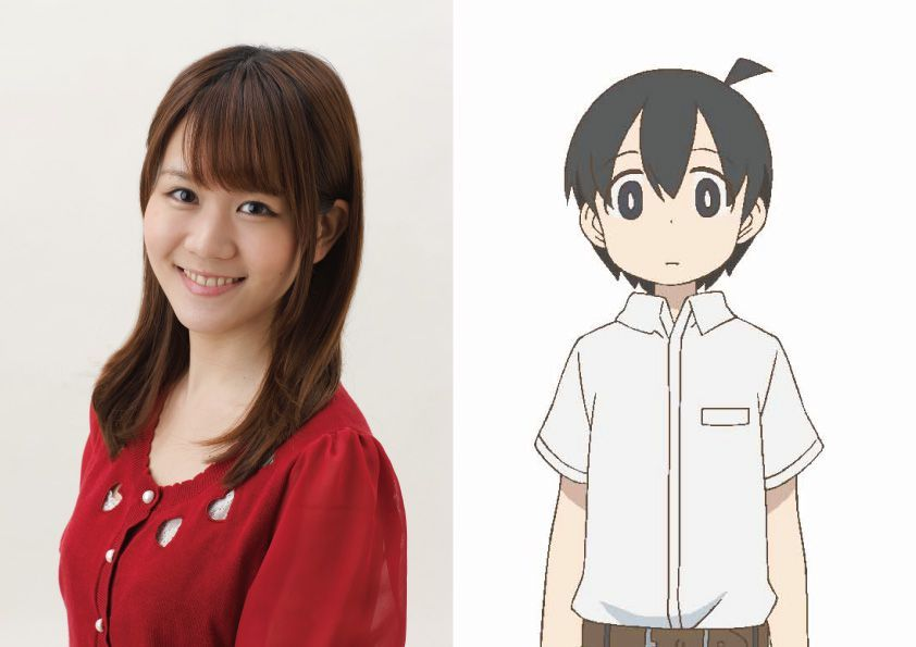 Tanaka (VA: Aimi Tanaka) from anime Ueno-san wa Bukiyou (How Clumsy You Are, Miss Ueno)