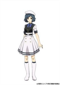 Maria from TV anime Kouya no Kotobuki Hikoutai (Kotobuki - The Wasteland Squadron)