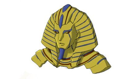 Sphinx (VA: Junichi Suwabe) from anime Dimension High School