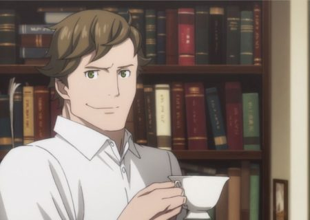 Screenshot from anime Kabukicho Sherlock