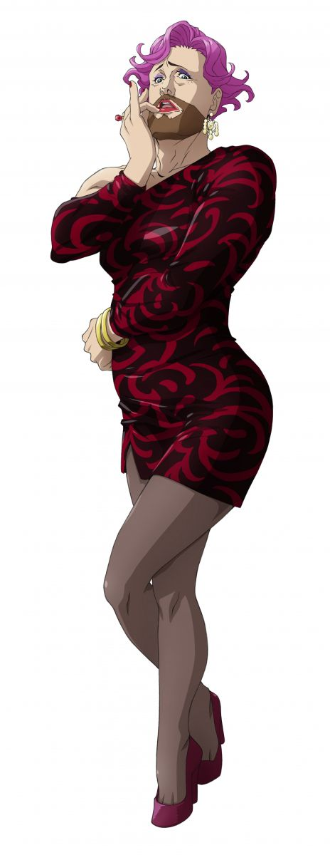 Mrs. Hudson from anime Kabukicho Sherlock