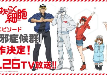 Cells at Work! Special Episode Anime Visual