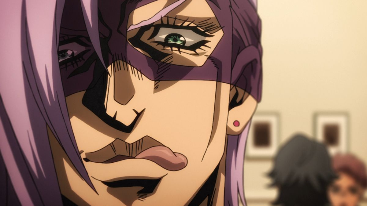 Melone vom anime JoJo's Bizarre Adventure: Golden Wind