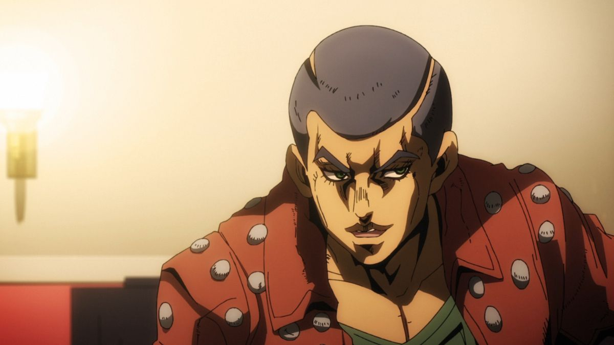 Formaggio vom anime JoJo's Bizarre Adventure: Golden Wind