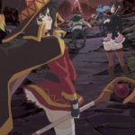 Official Screenshot from trailer of anime movie KonoSuba: Crimson Legend Visual