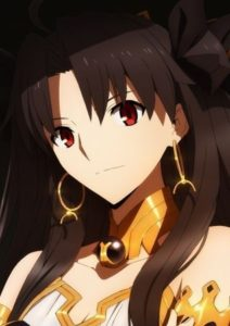 Ishtar from anime Fate/Grand Order: The Absolute Frontline in the War Against the Demonic Beasts–Babylonia