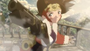 Kabaneri of the Iron Fortress: The Battle of Unato Official Anime Movie Screenshot ©カバネリ製作委員会