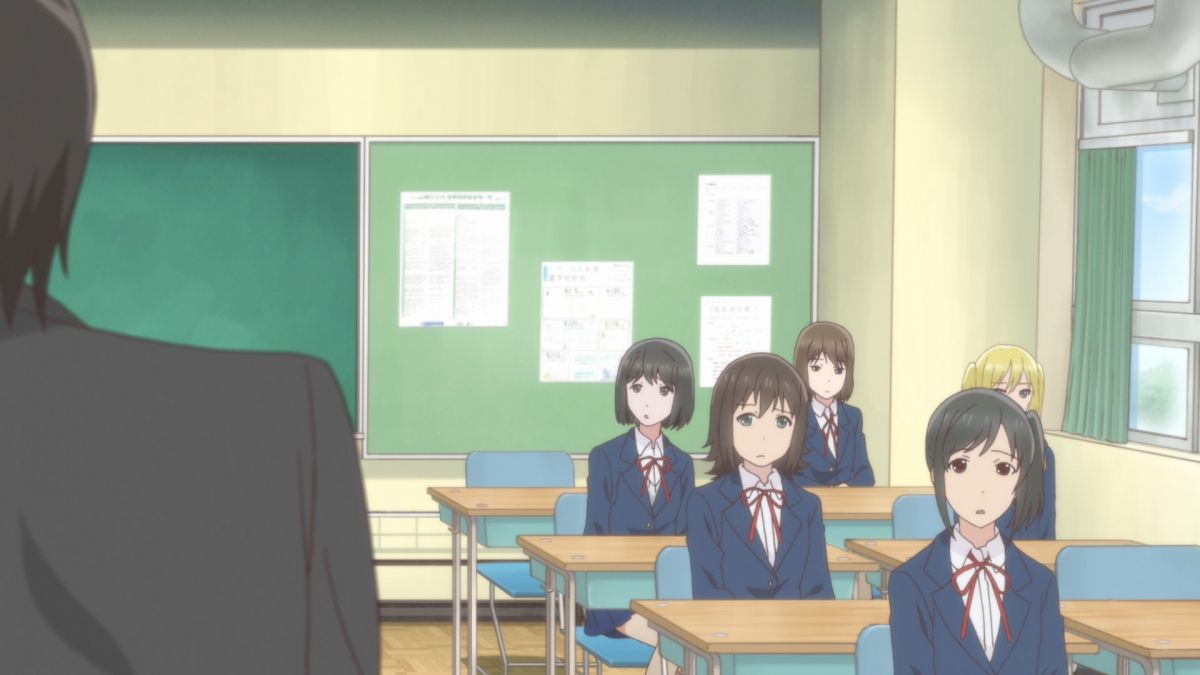 Joshikousei no Mudazukai (Wasteful Days of High School Girl) Official Anime Screenshot