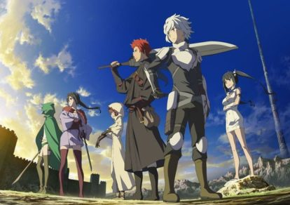 Is it Wrong to Pick Up Girls in a Dungeon? Season 2 Anime VIsual   Danmachi