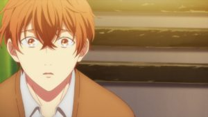 Mafuyu Sato from Given first anime character trailer