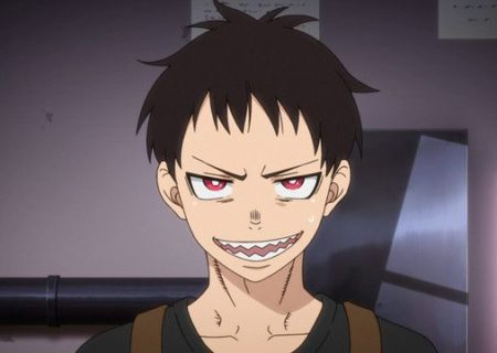 Still from anime Fire Force