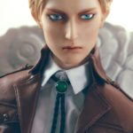 Attack on Titan ball-jointed doll of Erwin Smith in collaboration with DOLK.