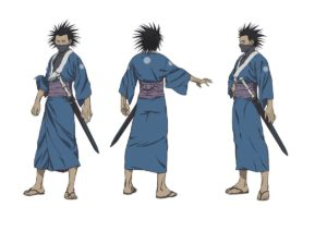 Taito Magatsu vom Anime Sabato Kuroi from anime The Blade of the Immortal (Mugen no Jūnin: Immortal)