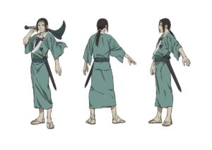 Anotsu Kagehisa vom Anime Taito Magatsu from anime Sabato Kuroi from anime The Blade of the Immortal (Mugen no Jūnin: Immortal)